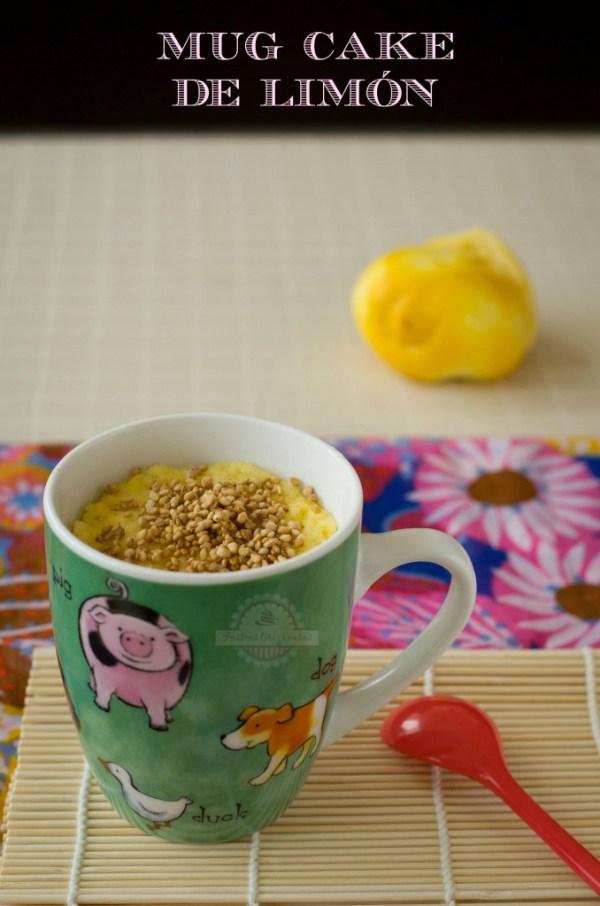 Mug Cake de Limón - Texto