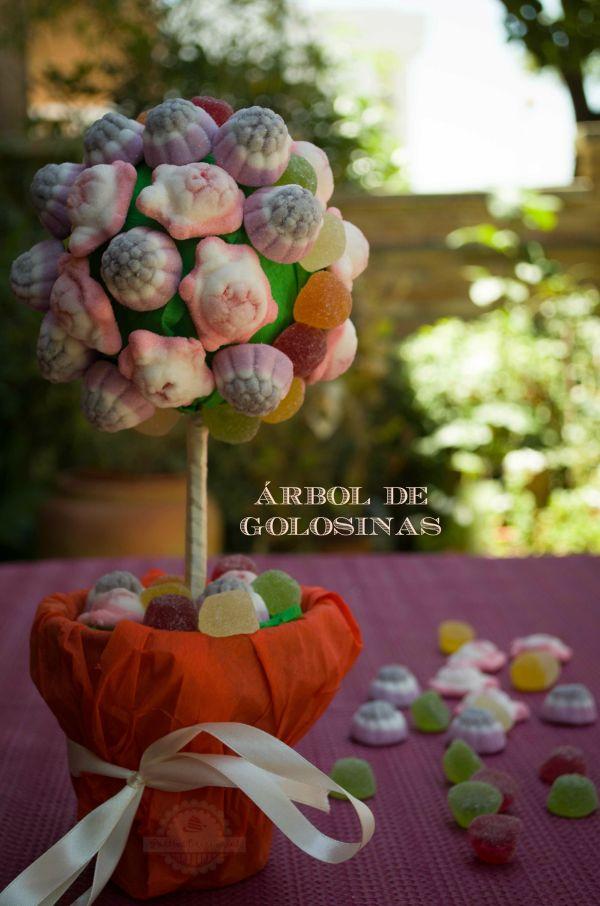 Arbol de Golosinas - Topiario de Chuches