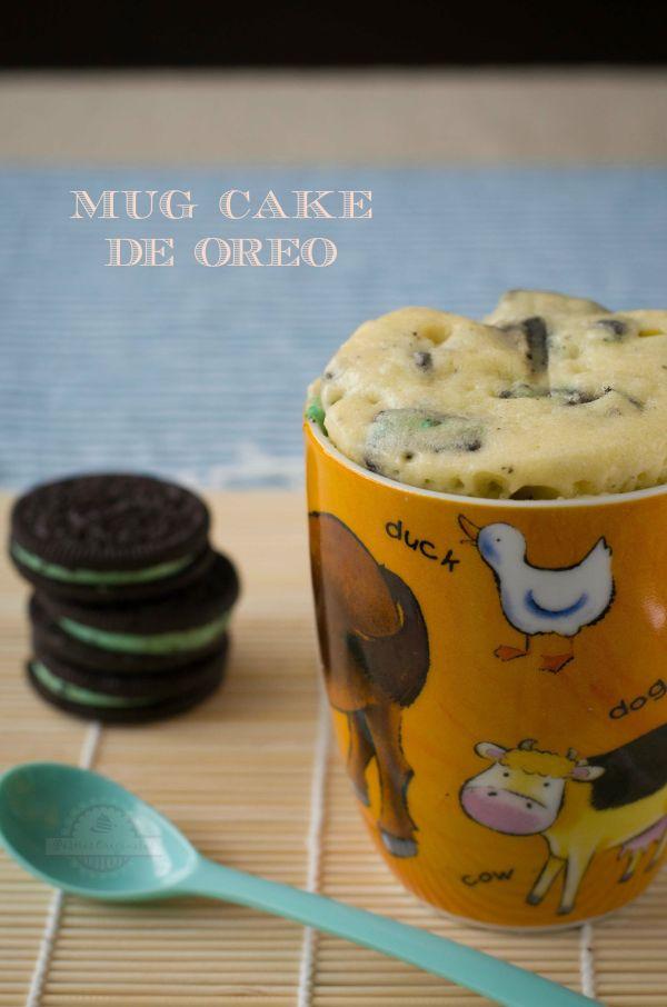 Mug Cake de Oreo - Texto