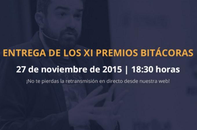 Gala de Entrega de los #Bitácoras15