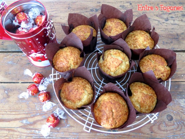 Muffins con corazón de chocolate 04