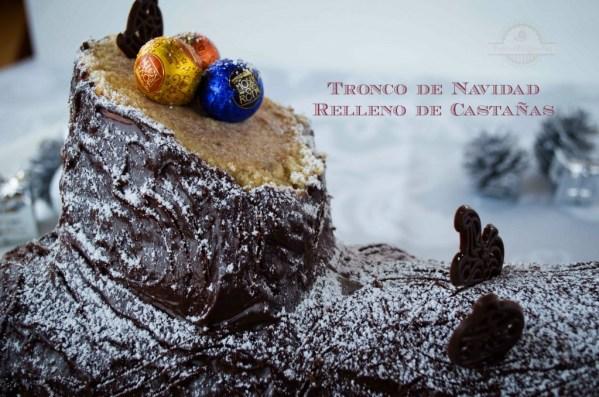 Tronco de Navidad Relleno de Castañas - Texto 04