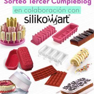 Sorteo Tercer Aniversario del Blog – Silikomart (Cerrado)