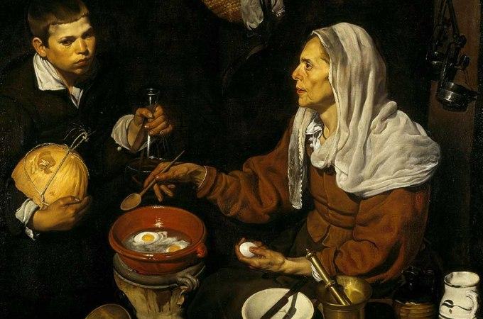 La vieja friendo huevos – Velázquez