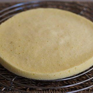 Base de Tarta de Bizcocho en Microrondas