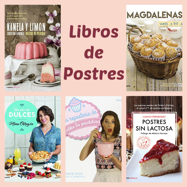 Libros de Postres para Cocinillas