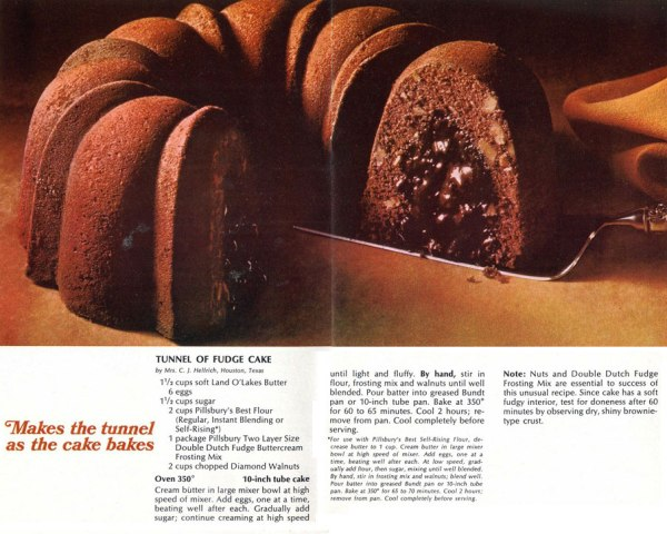 Bundt Cake - Tunel of Fudge Cake