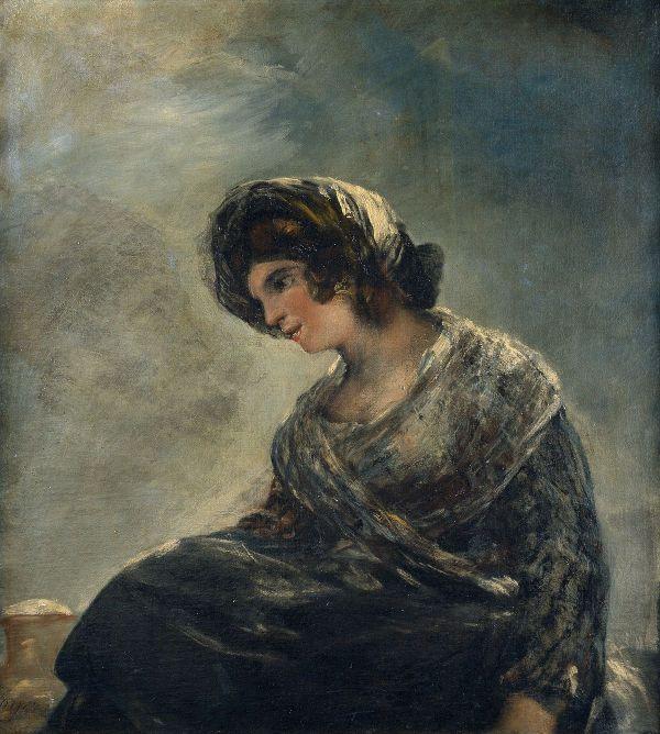 La lechera de Burdeos de Goya
