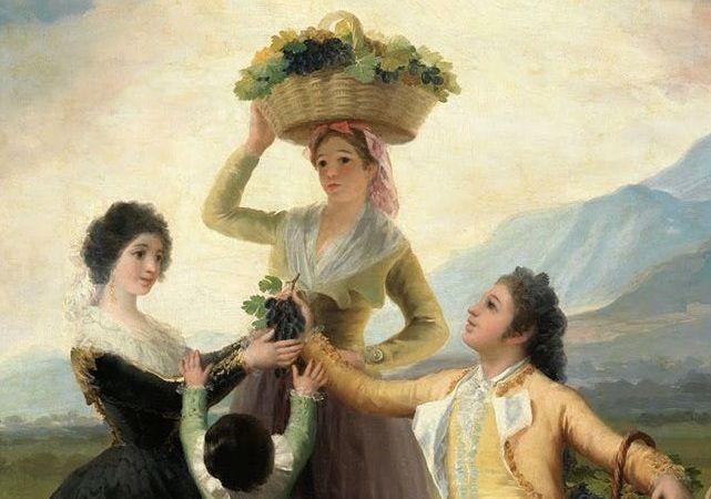 La vendimia – Goya