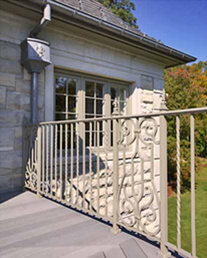 Residential Decorative Railings