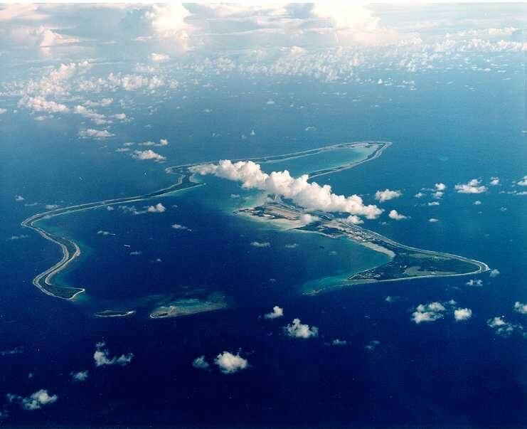 Diego Garcia, Oceano Índico