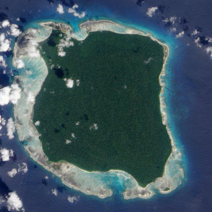 Isla Sentinel Norte, India