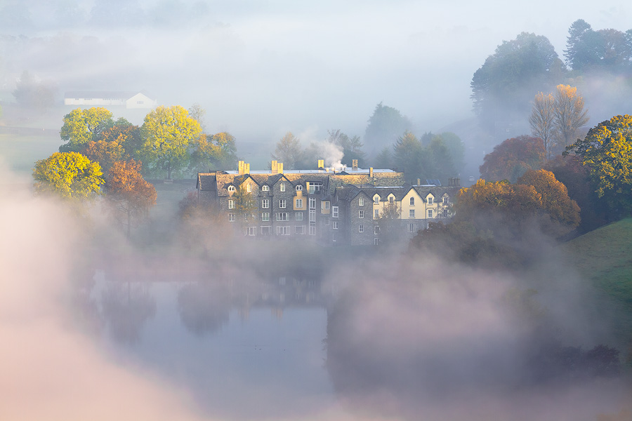 Nestled Retreat II - Mist Over Grasmere
