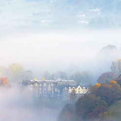 Nestled Retreat III - Mist Over Grasmere