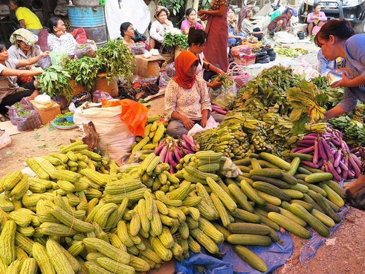 The market in Rantepao is colourful and exciting