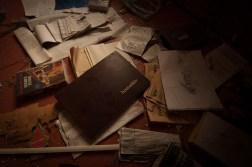 ..hemarkivet avslöjade inga hemligheter...