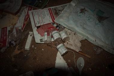 ...spåren av missbruk var tydliga...