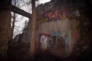 ...betong, urberg och graffiti...