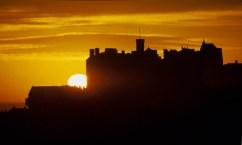 Sunset Edinburgh Castle - things to do in Edinburgh Scotland