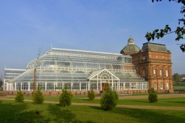 Outside view of the The People's Palace and Winter Gardens