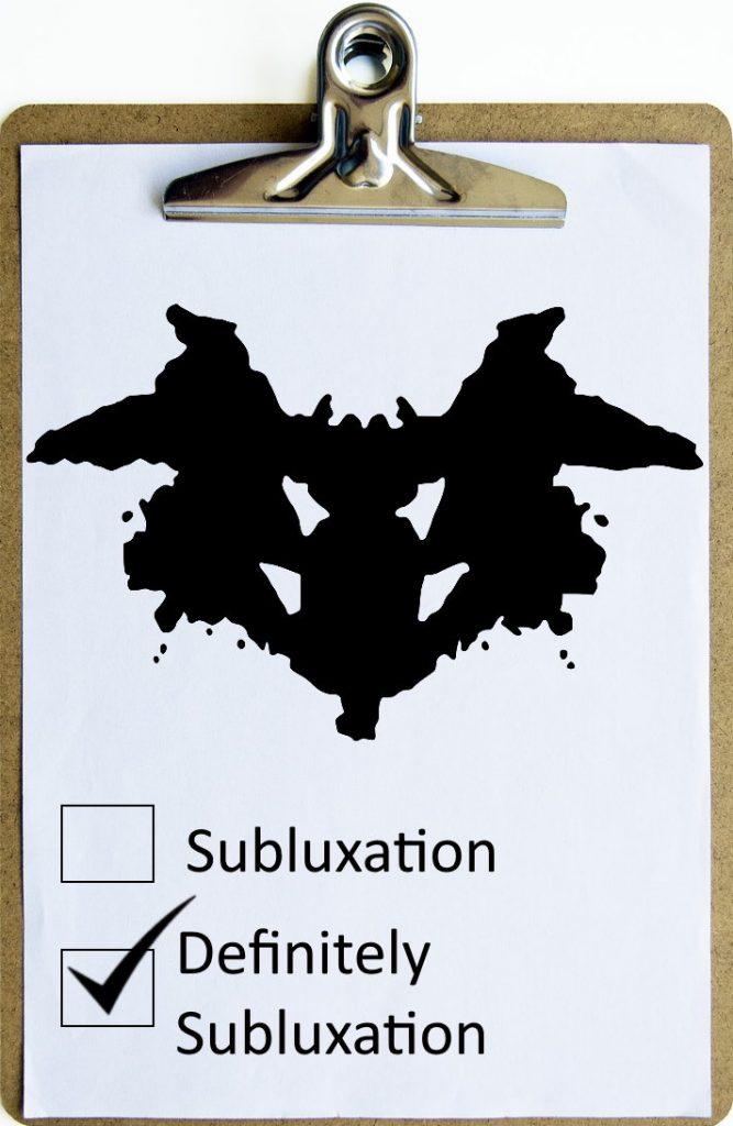Subluxation?
