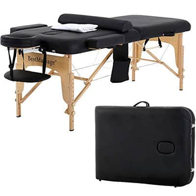 Massage Table Massage Bed SPA Bed 2 Fold Massage Table