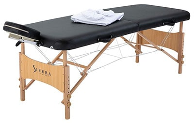 Best Massage Tables - Sierra Comfort All Inclusive Portable Massage Table