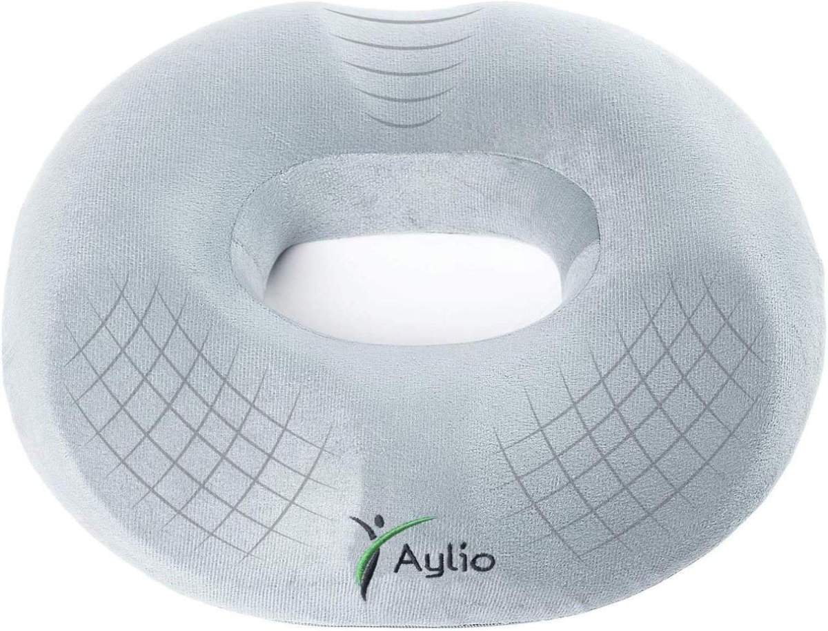 Aylio Firm Donut Pillow Seat Cushion