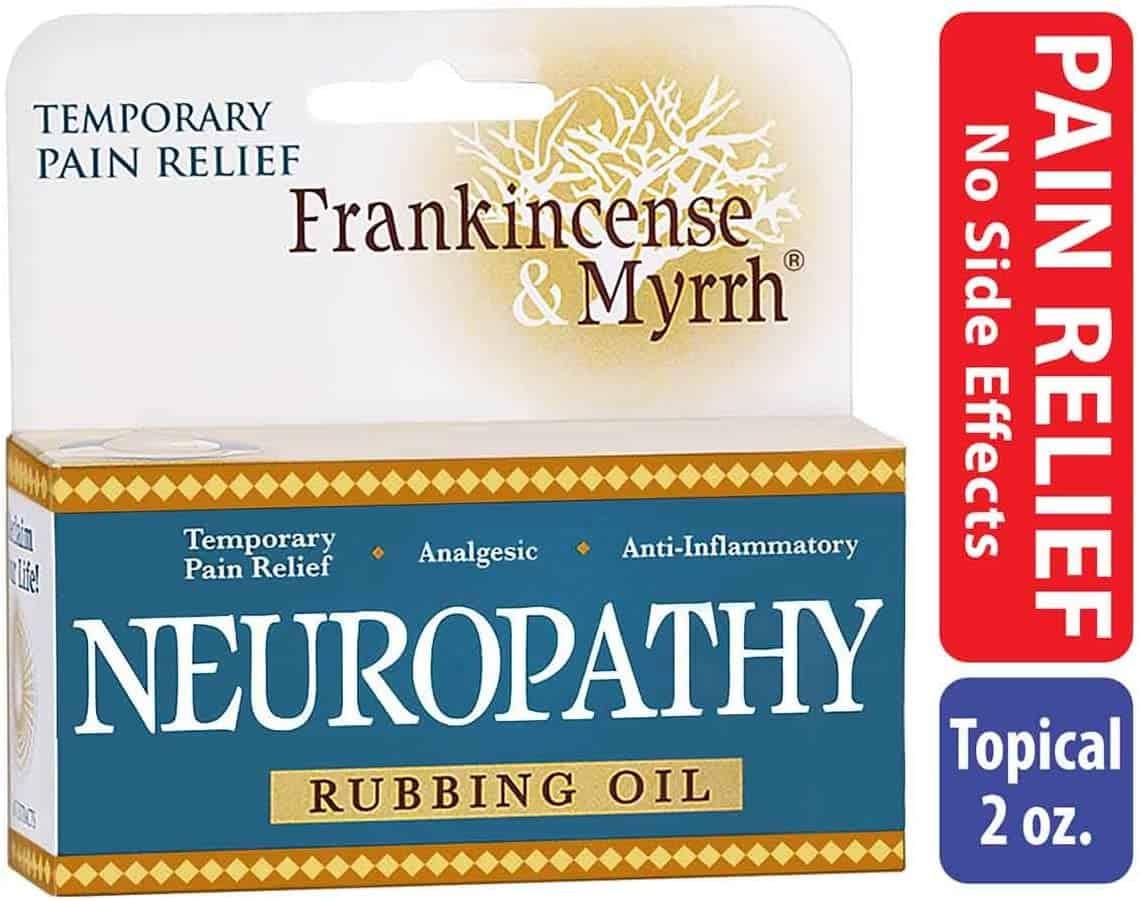 Frankincense and Myrrh Neuropathy Rubbing Oil