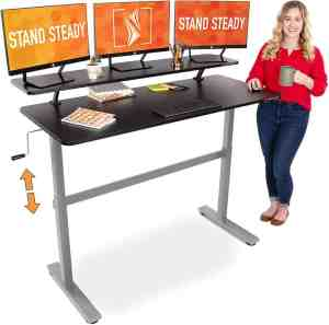 Stand Steady Tranzendesk Standing Desk