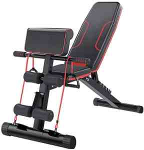 HOLATO Adjustable Weight and Sit Up Bench