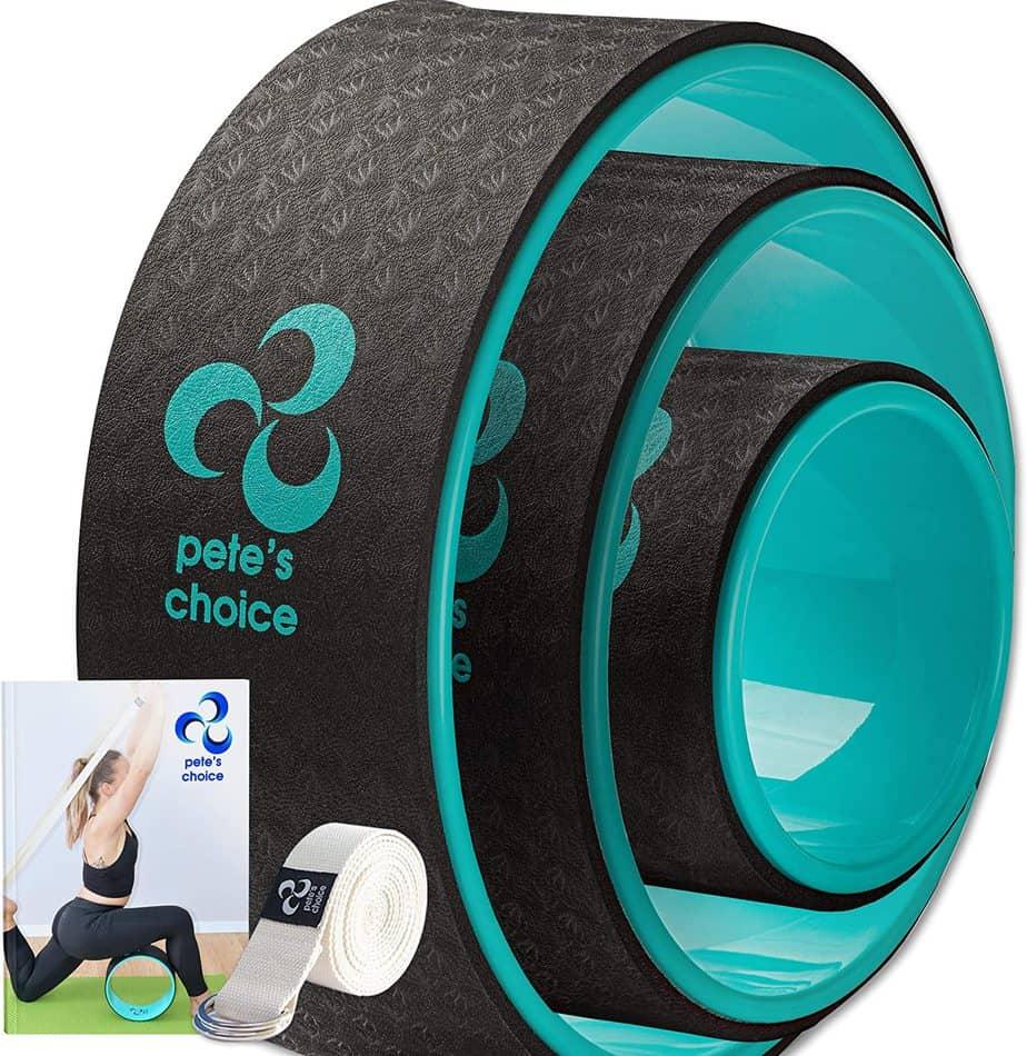 Pete's Choice Dharma Chirp and Yoga Wheel