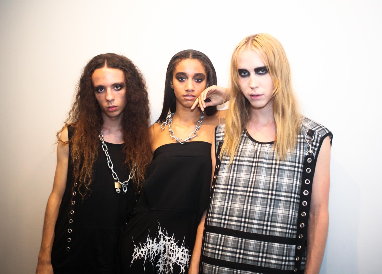 Models wearing Whatever 21