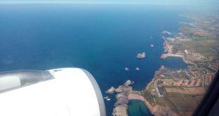 Costa Quebrada desde el aire