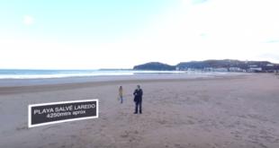 Video intractivo Playa de La Salvé Laredo