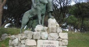 Monumento a Félix Rodríguez de la Fuente en Santander