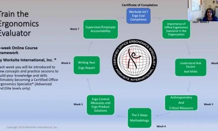 Train the Ergonomics Evaluator – Course Review