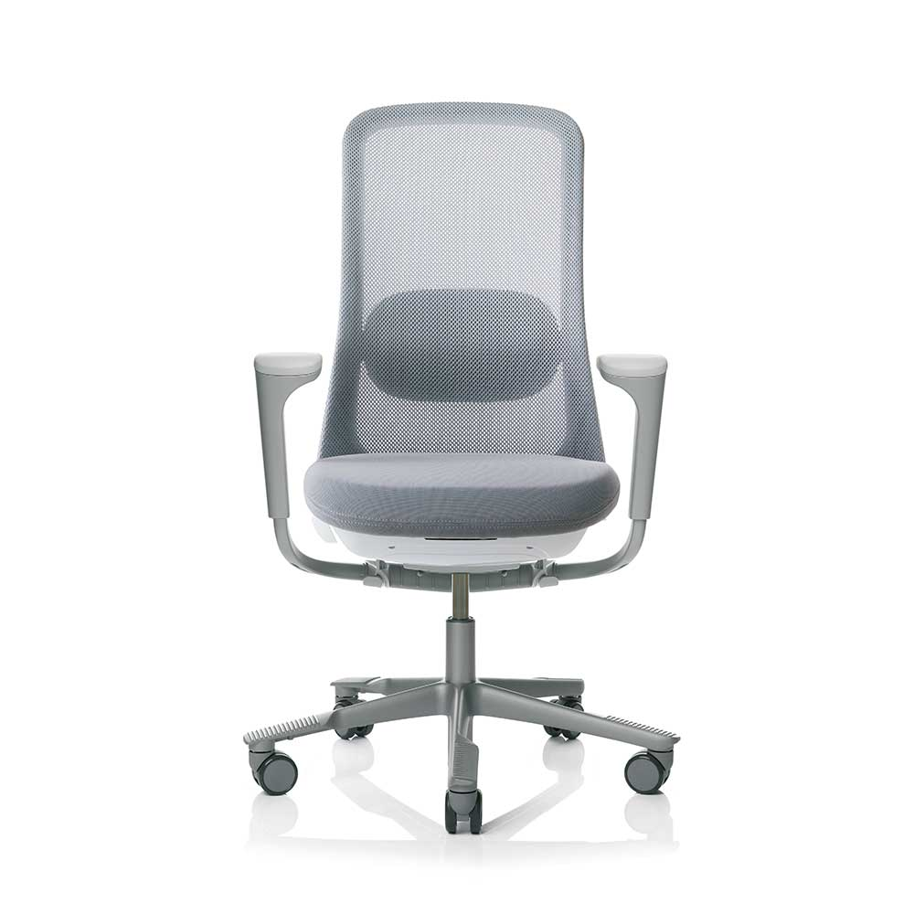 Task Chairs With Arms HÅg Sofi 7500 Silver Frame Mesh High Back Task Chair
