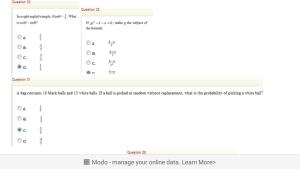 Mathematics question and answers