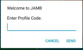 Jamb profile login