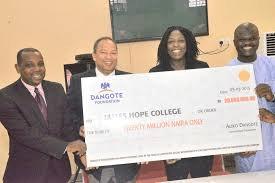 Dangote Foundation Scholarship