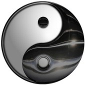 Yin-yang symbol - photo courtesy of DonkeyHotey