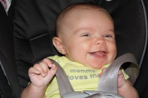 My grand daughter's smile