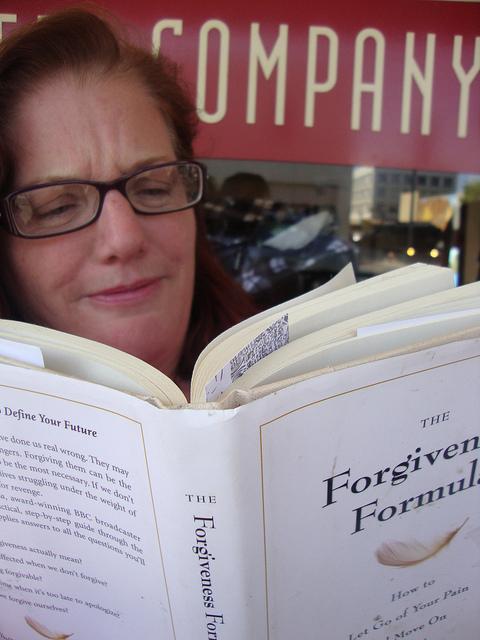 Forgiveness offers a fresh start -- photo courtesy of Judy Jordan Scott