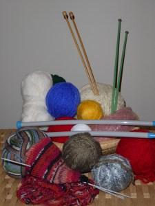 Knitting hobby