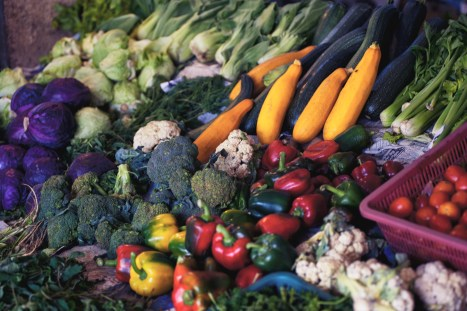 Abundant Food Choices -- photo courtesy of Alexandr Podvalny