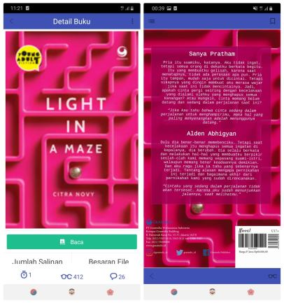 novel light in a maze
