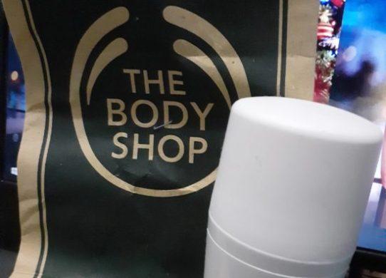 deodorant the body shop white musk