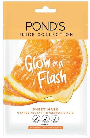 masker pond's juice collection orange