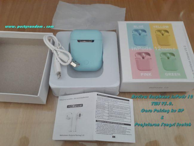 earphone bluetooth inpods 12